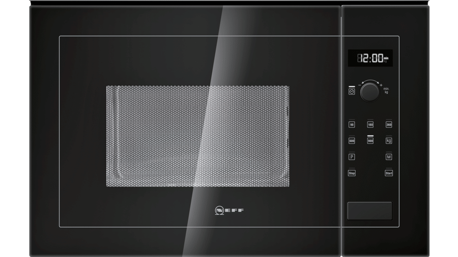 Neff H12WE60S0G Microwave Oven Black 1