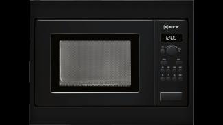 Neff H53W50S3GB Microwave Oven Black 1