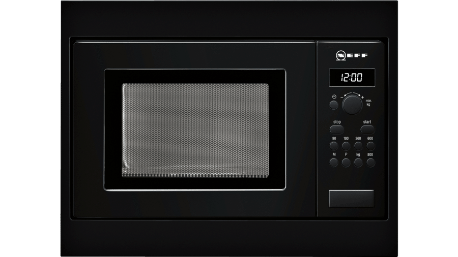 Neff H53W50S3GB Microwave Oven Black 1