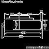 Neff I91VT44N0B Worktop Extractor 16