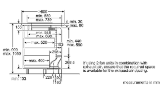 Neff I91VT44N0B Worktop Extractor 24