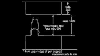 Neff I99CM67N0B Ceiling Extractor 4