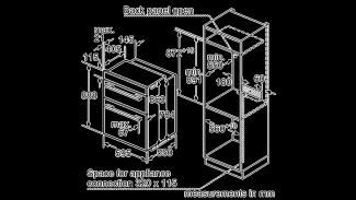 Neff U14M42N5GB Double Oven 2