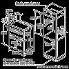 Neff U14M42W5GB Double Oven 2