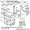 Neff U17M42N5GB Double Oven 2
