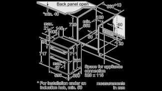 Neff U17M42N5GB Double Oven 3