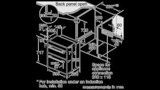 Neff U17S32N5GB Double Oven 2