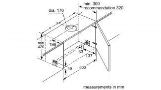 Neff D49ML54N0B Telescopic Hood 5