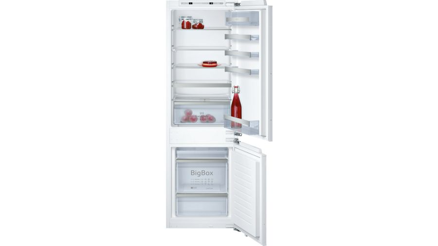 Neff KI6863F30G 60/40 Built-in Fridge Freezer 1