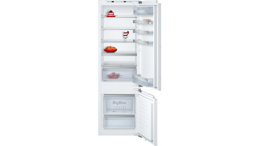 Neff KI6873F30G 70/30 Built-in Fridge Freezer 1