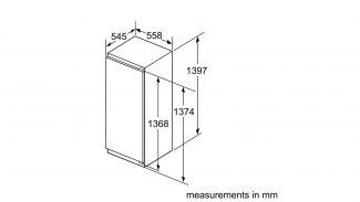 Neff KI8513D30G Built-in Single Door Freezer 2