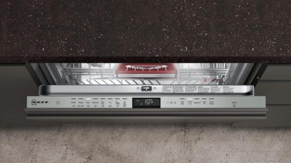 Neff S515T80D1G 60cm Fully Integrated Dishwasher 2