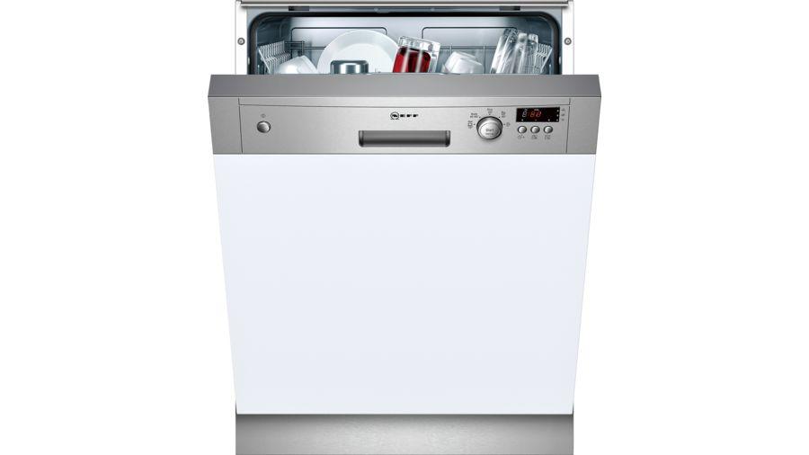 Neff S41E50N1GB 60cm Semi Integrated Dishwasher 1