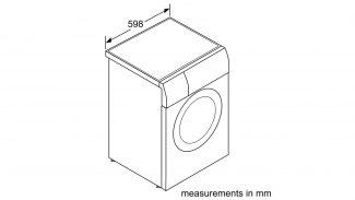 Neff V7446X1GB Freestanding Washer Dryer 5