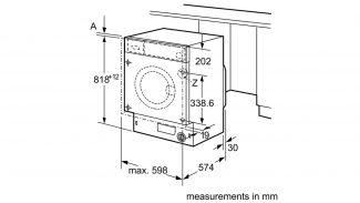 Neff W544BX0GB Built-in Washing Machine 5