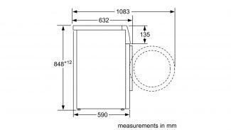 Neff W7460X4GB Freestanding Washing Machine 6