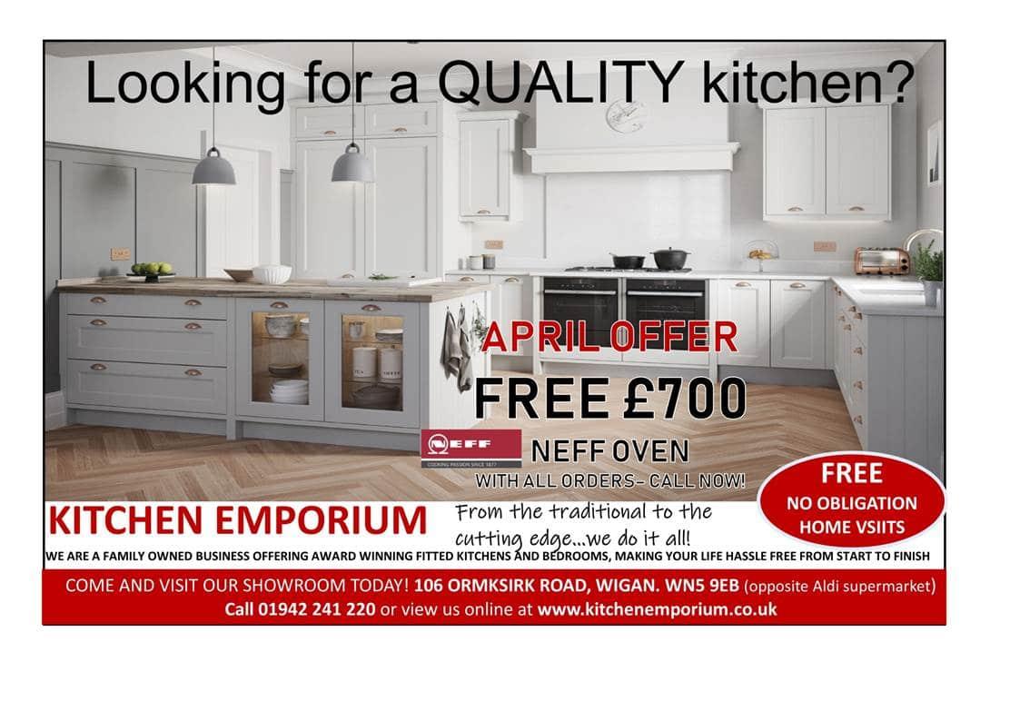 Latest Offer at Kitchen Emporium