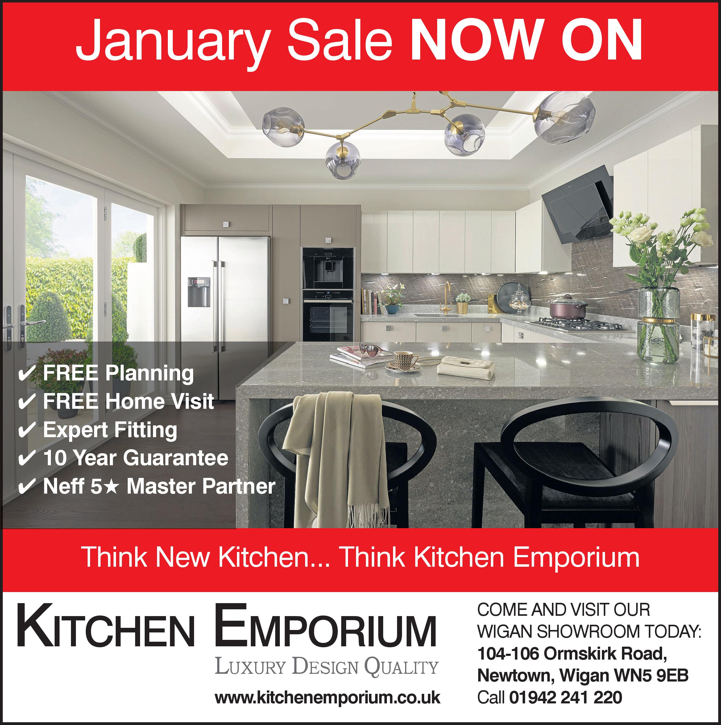 January Fitted Kitchen Sale