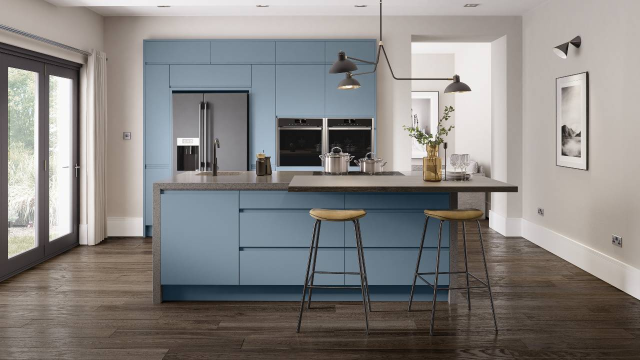 Handleless Fitted Kitchens by Kitchen Emporium