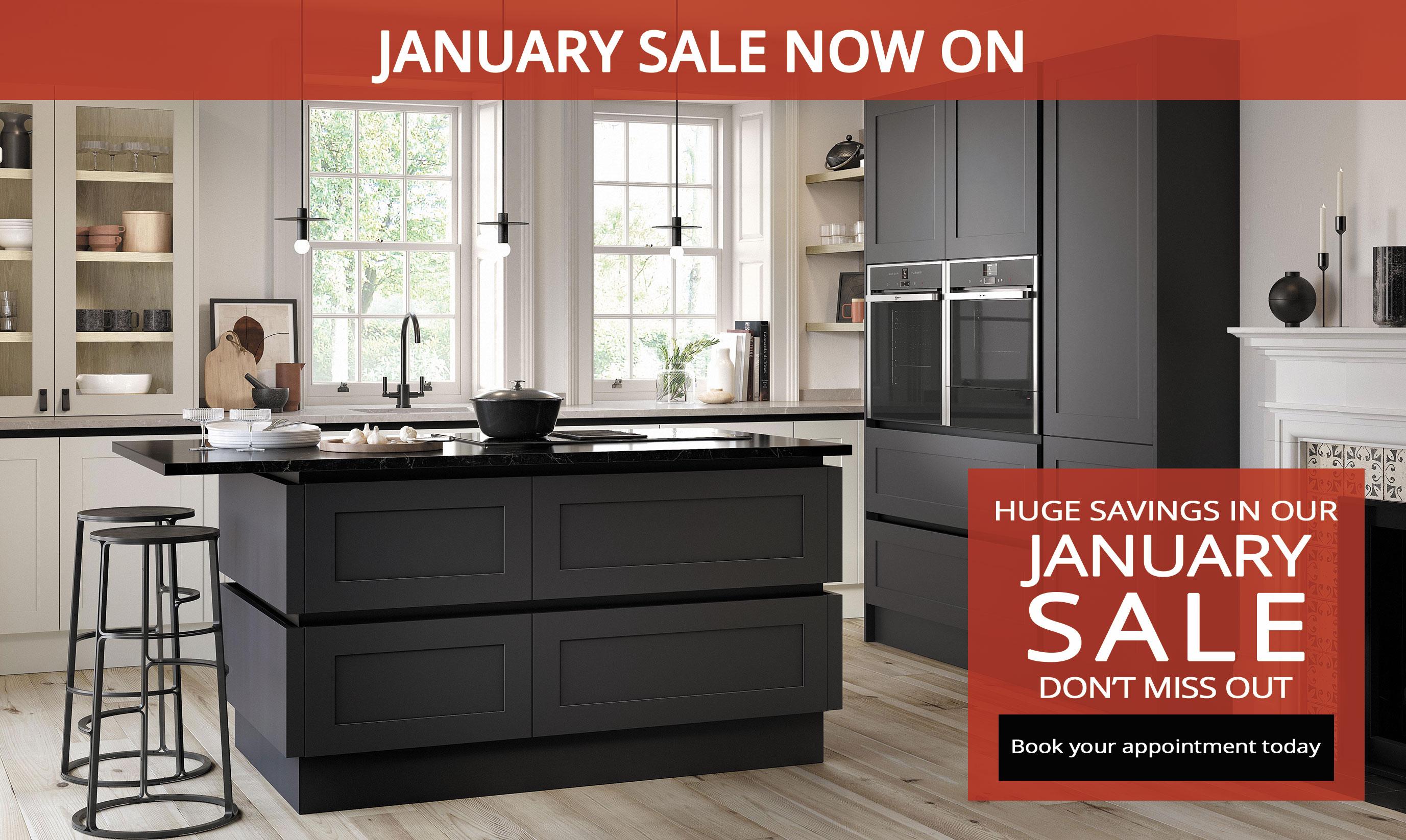 January Kitchen Sale at Kitchen Emporium