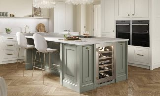 Clarendon Painted Inframe Fitted Kitchen