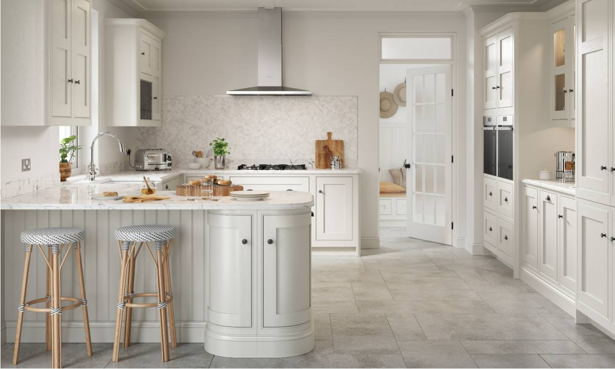 Clarendon Porcelain Inframe Fitted Kitchen