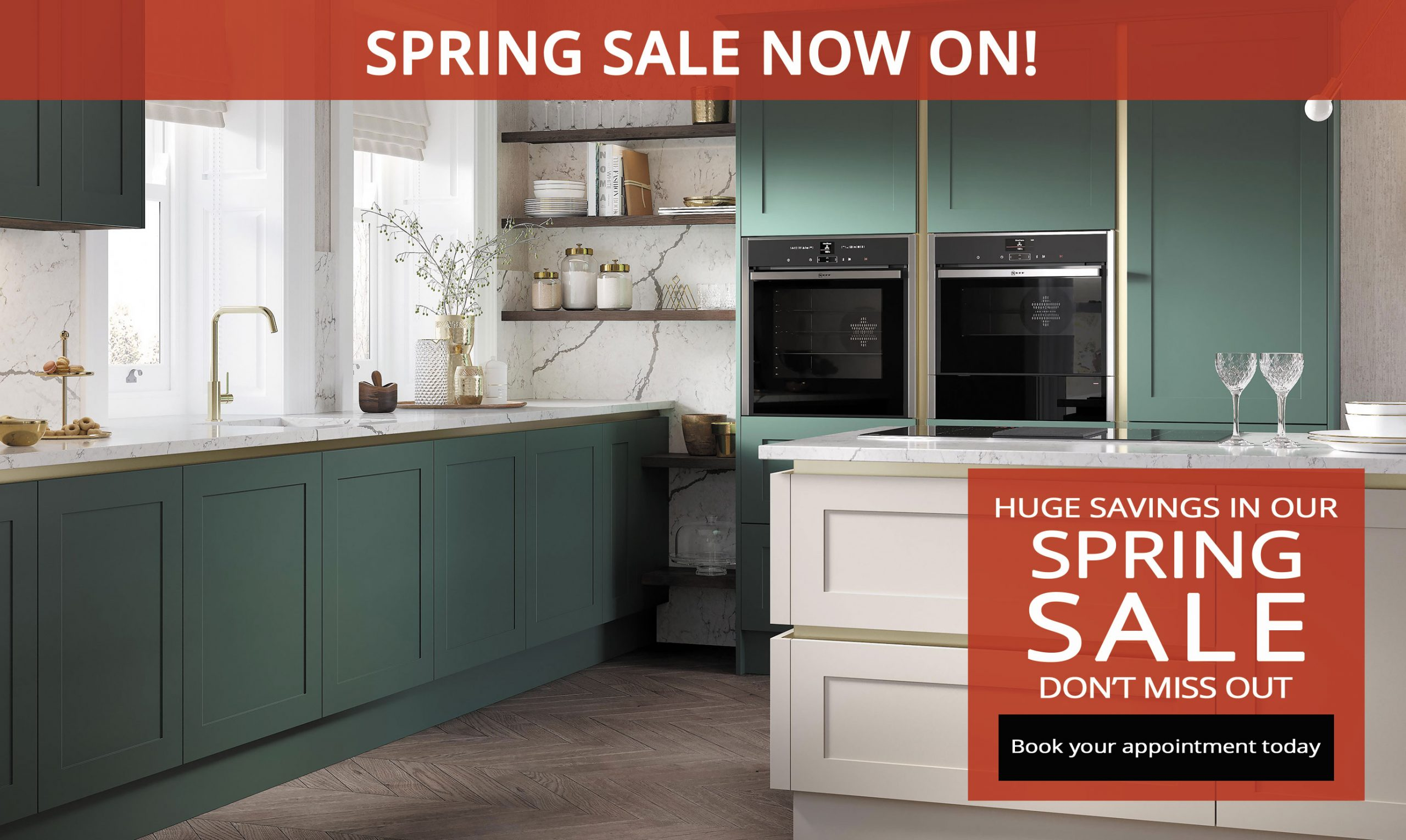 Spring Kitchen Sale at Kitchen Emporium