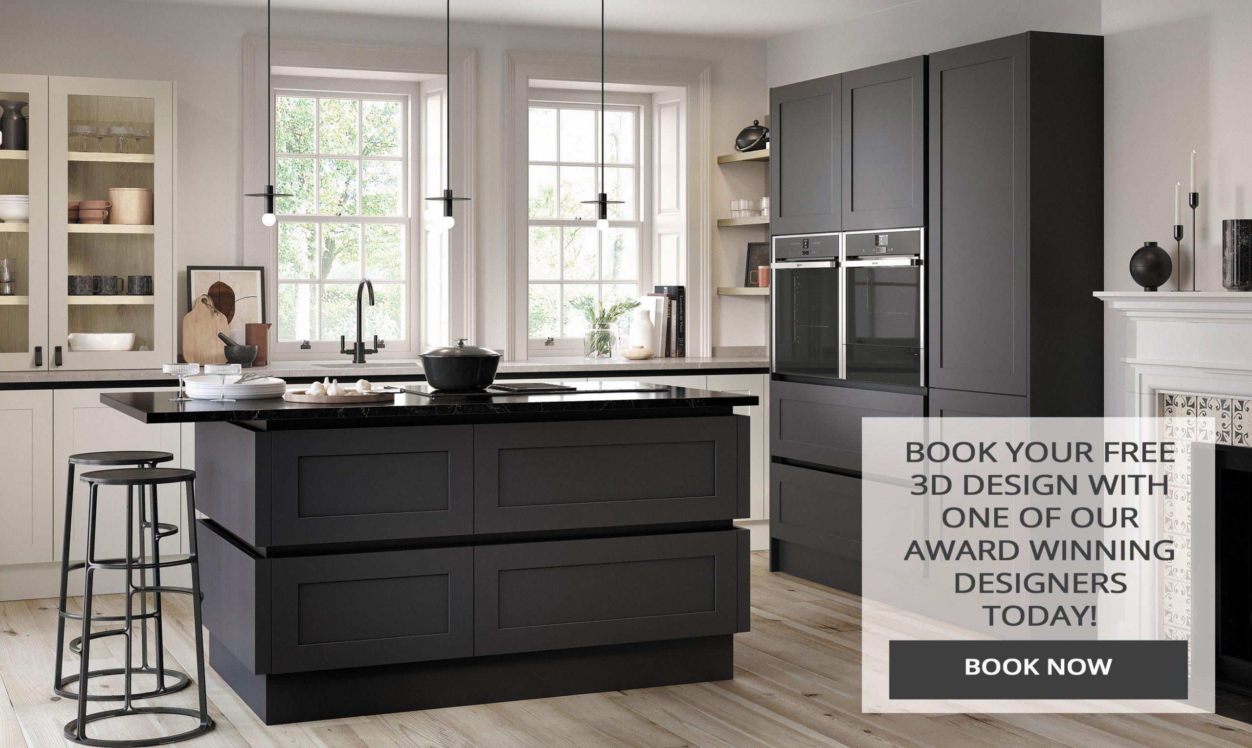 Book a free 3D kitchen design